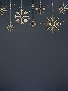 Картинки Новый год Снежинки Шаблон поздравительной открытки Серый фон