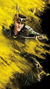 Обои Тор: Рагнарёк Мужчины Ножик Tom Hiddleston loki Кино Знаменитости