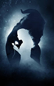 Фото Монстр Эмма Уотсон Красавица и чудовище 2017 Силуэт кино