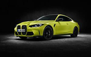Обои БМВ Купе Металлик M4 Competition, (G82), 2020 автомобиль