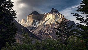 Картинки Гора Чили Patagonia, Torres del Paine