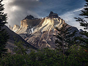 Картинки Горы Чили Patagonia, Torres del Paine
