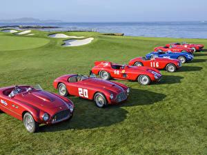 Фотографии Ferrari Красный 1947-2017