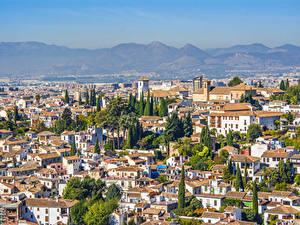 Фотография Испания Дома Granada Города