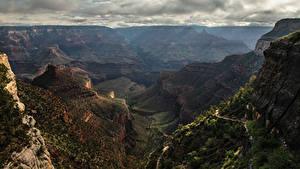 Фотографии США Гранд-Каньон парк Парки Горы Каньоны Природа