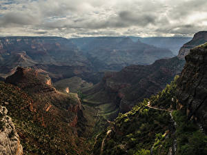 Фотографии США Гранд-Каньон парк Парки Горы Каньоны