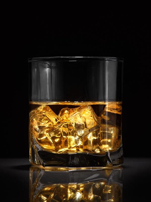 Картинка Лед Виски стакана Еда 600x800 для мобильного телефона льда Стакан стакане Пища Продукты питания