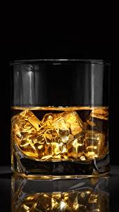 Картинка Виски Стакан Лед Еда