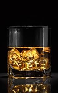 Картинка Виски Стакан Лед Пища