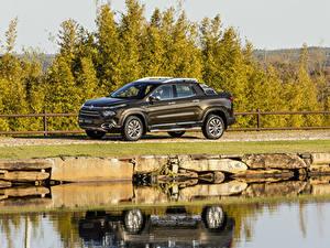 Фотография Фиат Коричневый Пикап кузов Металлик 2018-19 Toro Ranch Машины