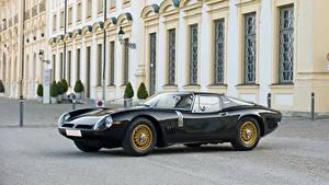 Фотографии Bizzarrini Ретро Черная Металлик 1966-67 5300 GT Strada Bertone авто
