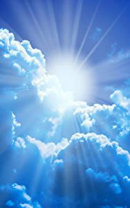 Фото Небо Облачно Солнца Лучи света