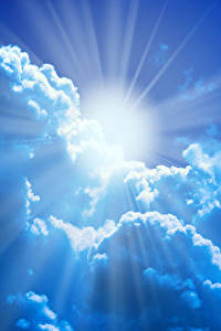 Фото Небо Облачно Солнца Лучи света Природа