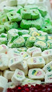 Фотографии Сладости Много Мармелад Лукум Turkish candy