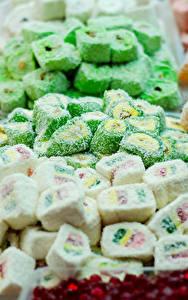 Фотографии Сладости Много Мармелад Лукум Turkish candy Еда