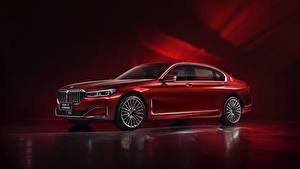 Картинки BMW Красных Металлик G12, 7-series, 2019