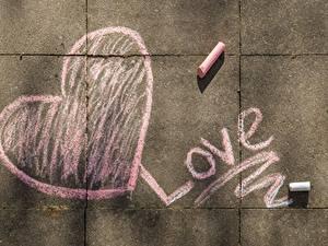 Фотографии Любовь Серце Английская
