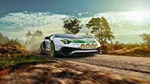 Фотография Lamborghini Движение LP750-4 SV Alitalia Tribute THOMAS VAN ROOIJ