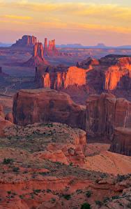 Фотографии Гранд-Каньон парк США Парк Гора Скале Природа
