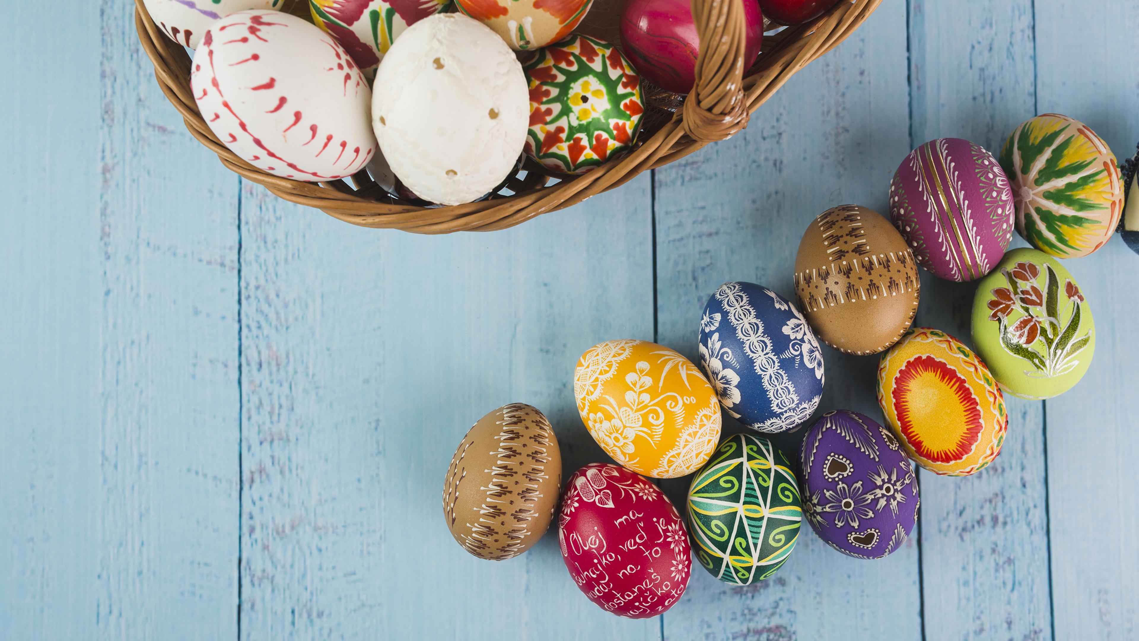 Картинки Пасха яйцами Доски Дизайн 3840x2160 яиц Яйца яйцо дизайна