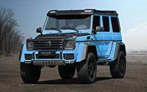 Фото Mercedes-Benz G-класс Голубые Mansory, W463