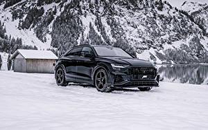 Фотография Audi Зима Черных Металлик 2019-20 ABT SQ8 TDI машина