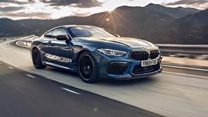 Фото BMW Движение Синяя Металлик Купе Competition, UK-Spec, 2019, M8, F92