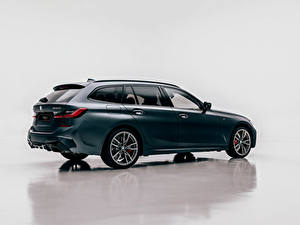 Обои БМВ Металлик Универсал Сбоку M340i xDrive Touring, Worldwide, G21, 2020 Автомобили