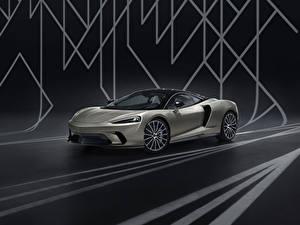 Обои для рабочего стола McLaren Серый 2020 GT by MSO машины