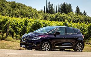 Фотография Renault Фиолетовый Металлик 2017-18 Scenic Initiale Paris Worldwide Авто