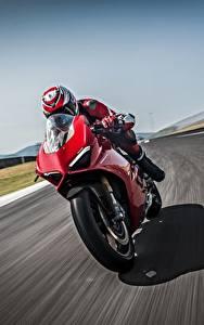 Обои Дукати Едущий Красная 2018 Panigale V4 S Panigale мотоцикл