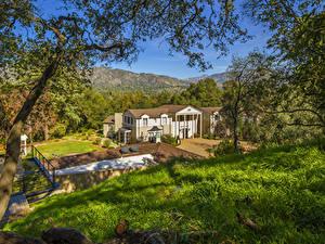 Фото Штаты Здания Калифорния Особняк Boddy House Города