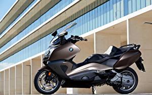 Картинка BMW - Мотоциклы Мотороллер Сбоку 2012-16 C 650 GT Мотоциклы