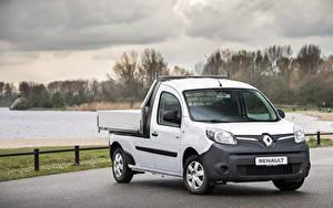 Фотографии Renault Пикап кузов Белый 2019 Kangoo Z.E. Pick-up
