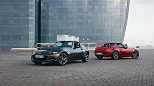 Картинка Mazda Двое Металлик Родстер 2016-17 MX-5 RF Worldwide автомобиль