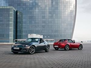 Картинка Mazda Двое Металлик Родстер 2016-17 MX-5 RF Worldwide