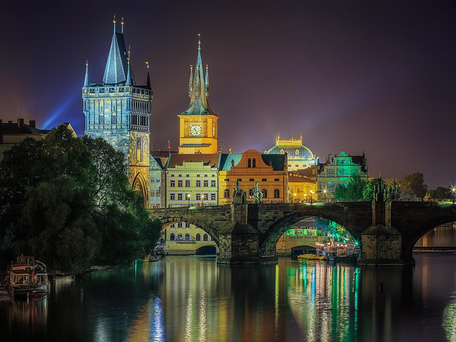 Обои czech republic, prague, чехия, карлов мост. Города foto 19
