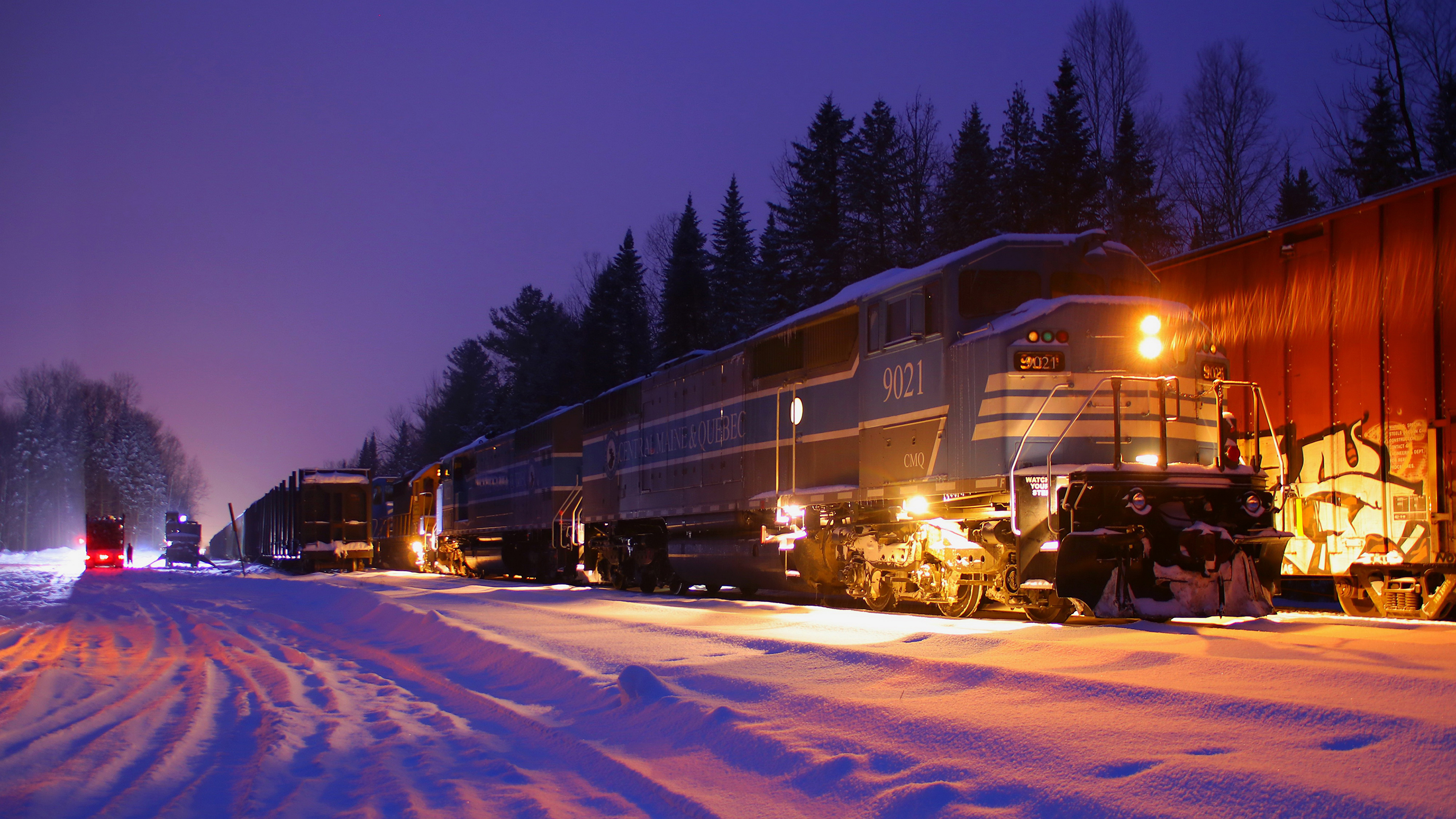 паровоз поезд снег зима дым the engine train snow winter smoke без смс
