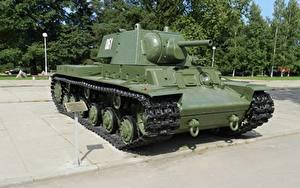 Картинка Танки Памятники Россия KV-1