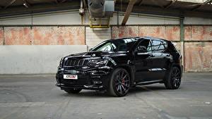 Фотография Джип SUV Черная Металлик 2018 GME Grand Cherokee SRT Авто