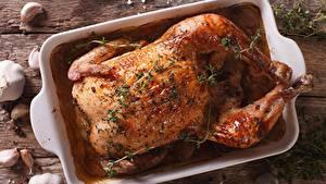 Картинки Курица запеченная Специи Еда
