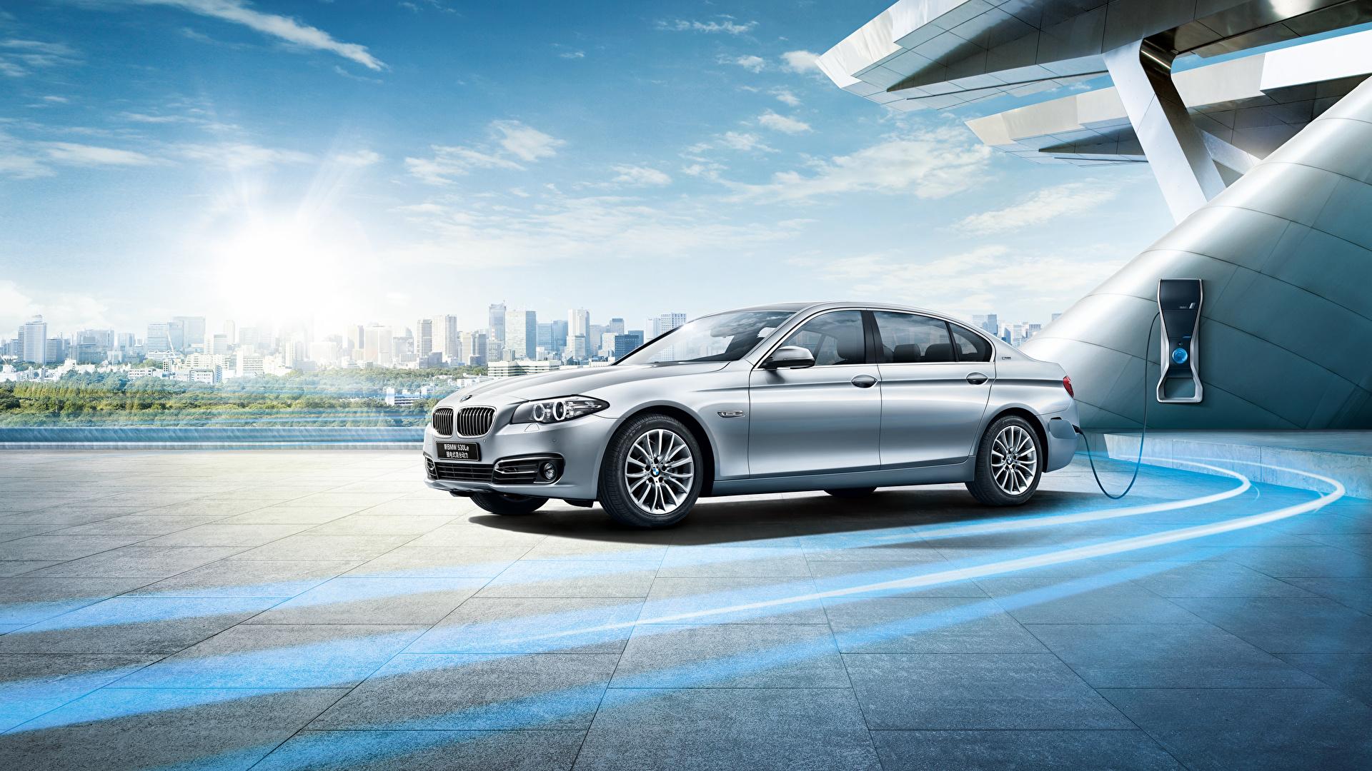 Картинки BMW F18 Седан Автомобили 1920x1080 БМВ авто машины машина автомобиль