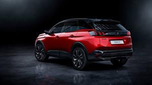 Картинка Peugeot Кроссовер Красные Металлик 3008 GT, 2020 машина