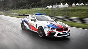 Картинка BMW Тюнинг Едущая MotoGP M8 F92