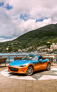 Фото Mazda Тюнинг Кабриолет Металлик 2016 MX-5 Levanto by Garage Italia Customs машина