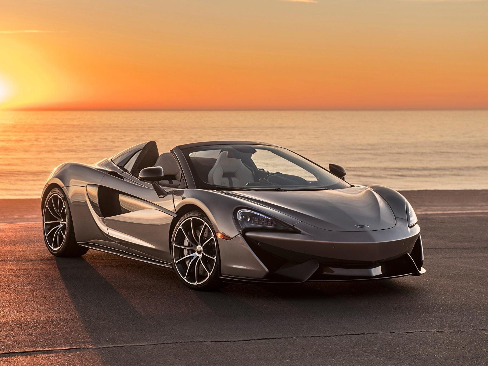 Фотография Макларен spider 570s Родстер Автомобили 1600x1200 McLaren Авто Машины
