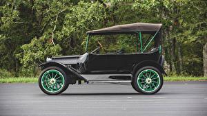 Фотографии Шевроле Винтаж Черная Сбоку 1919 Series 490 Touring авто