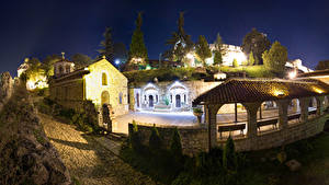 Фотографии Храмы Церковь Сербия Ночные Church of Saint Petka Beograd