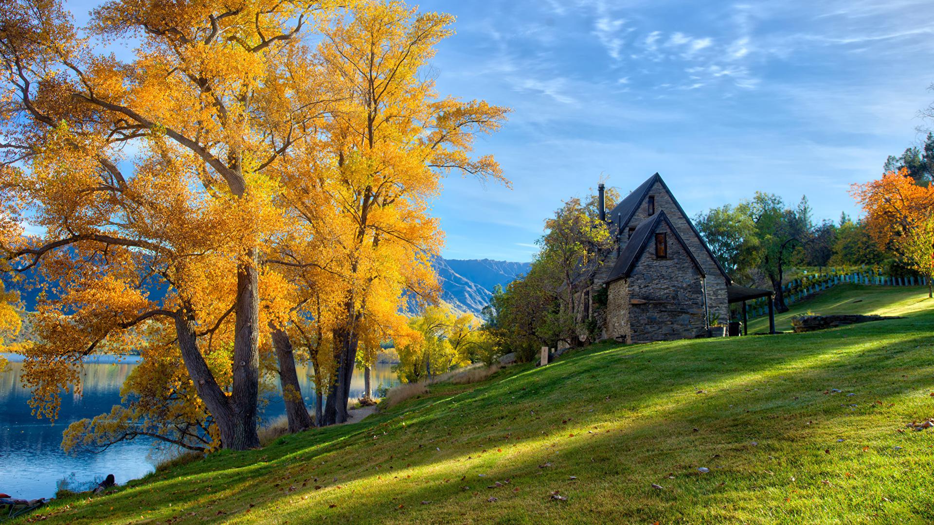 Новая зеландия Hd: Обои Новая Зеландия Queenstown HDRI Осень Природа Трава
