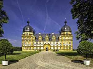 Фото Германия Замки Дороги Seehof Palace город